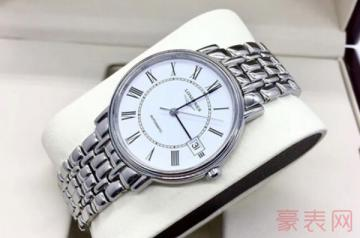 公价一万多的浪琴手表回收价格会亏很多吗