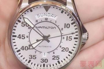 回收汉米尔顿手表最低需要几小时