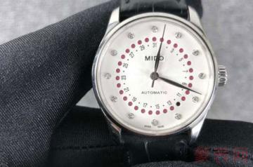 均价几千的美度手表可以被回收吗
