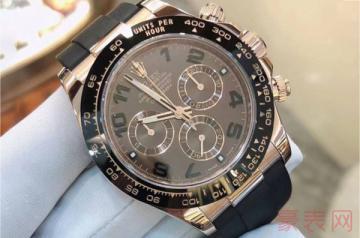 哪里回收世界顶级品牌的二手手表