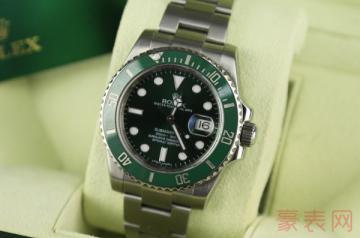 2手表劳力士绿水鬼回收能卖多少钱