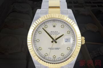 一块10万的劳力士手表回收能卖多少钱
