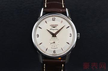 款式繁多的浪琴军旗手表回收多少钱