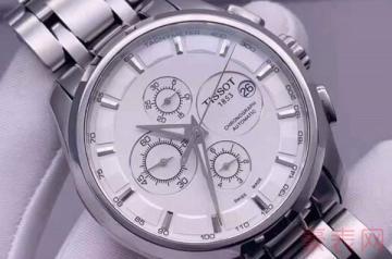 单个天梭库图手表回收能卖多少钱