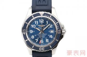 老款式的百年灵手表回收价格如何