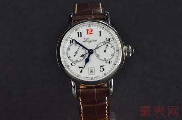 浪琴手表戴了一年回收能卖多少钱