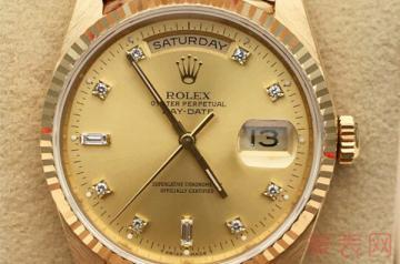 二手劳力士金手表回收价格高吗