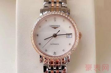 3万多的浪琴手表回收能卖多少