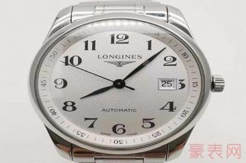 浪琴机械女表心月系列手表回收多少钱