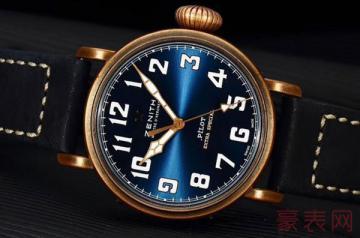 真力时手表回收价格如何 此地超出一倍的报价