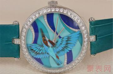 外观独特的梵克雅宝手表卖二手值钱吗