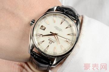 欧米茄海马手表二手能卖多少钱