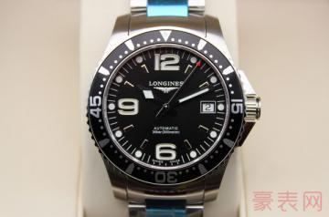 具有优雅气质的浪琴手表回收一般几折