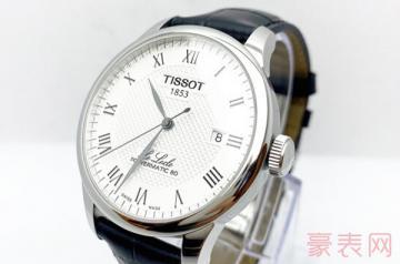1万多的天梭手表摔坏了还能卖么