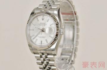 劳力士日志二手手表回收能卖多少钱