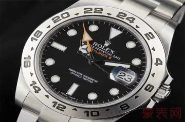 劳力士手表没有票据可以卖多少钱
