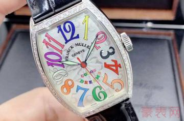 法穆兰手表回收估价哪个平台更靠谱
