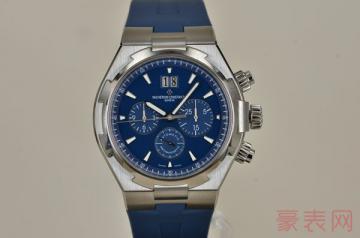 江诗丹顿名表回收店能接受什么样的手表