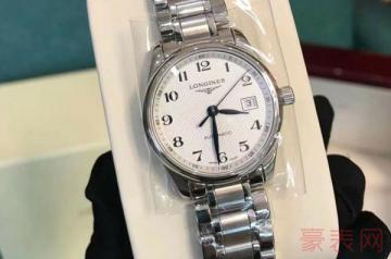 二手浪琴表不要了回收可以卖多少钱