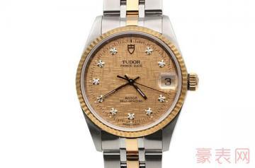 帝舵王子系列带钻手表卖出去能卖多少