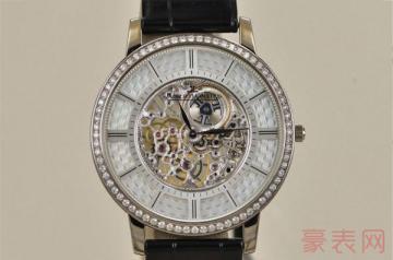 二手高档手表几折回收在于本身情况