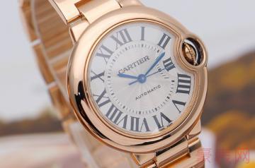 高奢品牌卡地亚二手手表回收几折