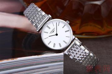 买来一年的浪琴手表回收行情如何