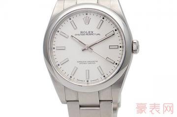 全新40000元的劳力士手表回收多少钱