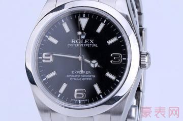 劳力士探险家手表回收价位就是这么自信