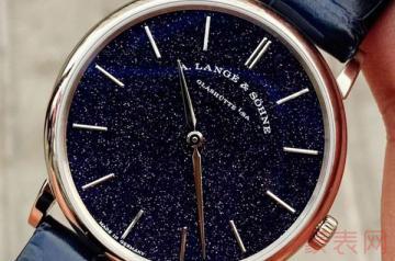 回收朗格二手手表行情来袭 最高价竟达八折