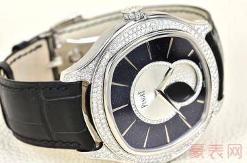 外观精美的伯爵镶钻手表回收吗