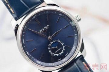浪琴名匠手表回收大约多少钱