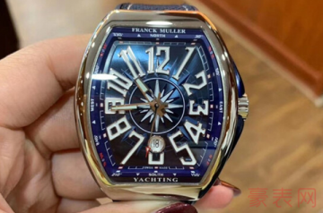 回收二手法穆兰手表一般有几折
