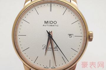 纪念40周年发售的美度手表能回收多少钱