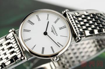 八千左右的浪琴手表二手能卖多少钱