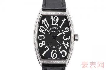 法穆兰5850手表回收价位能否拔得头筹