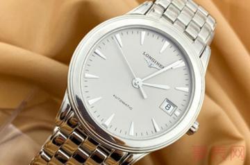 浪琴名匠手表戴了三年还能卖多少钱