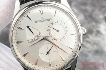 去年夏天买的积家手表可以回收吗