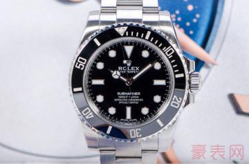 劳力士黑水鬼间黑款手表回收价如何