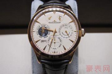 25万的积家手表二手回收卖多少钱
