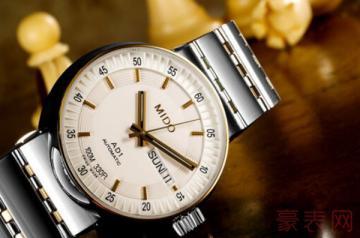 美度完美系列的手表回收价格为几何