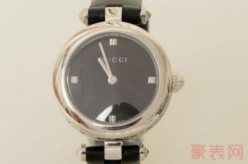 保养过的古驰二手手表回收几折
