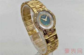 表壳材质是金的伯爵手表回收价值几何