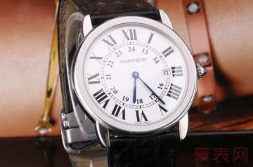 二手卡地亚手表在哪里回收才会有高报价