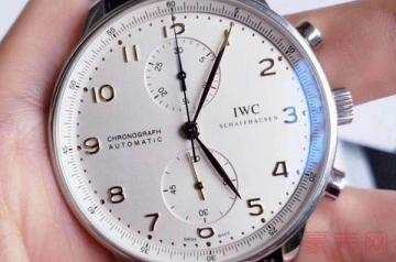 用了一年的万国葡计手表回收卖多少钱