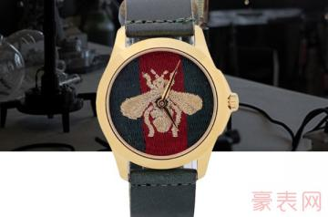 作为时尚宠儿古驰的手表有回收的吗