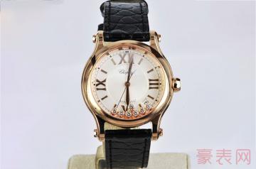 外观华丽的萧邦手表回收能卖多少钱
