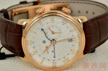 低调制表的宝珀手表可以回收吗