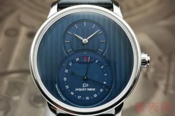 哪里回收雅克德罗手表有高价优势