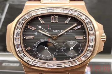 百达翡丽正装款式的手表回收几折